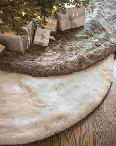 Lodge Faux Fur Tree Skirt Main