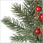 Heritage Spice Wreath PDP Foliage