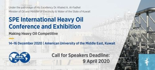 SPE International Heavy Oil  Conference and Exhibition