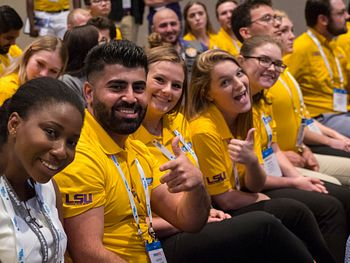 Students at ATCE 2018