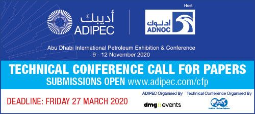 2Abu Dhabi International Petroleum Exhibition & Conference (ADIPEC)Call for Papers