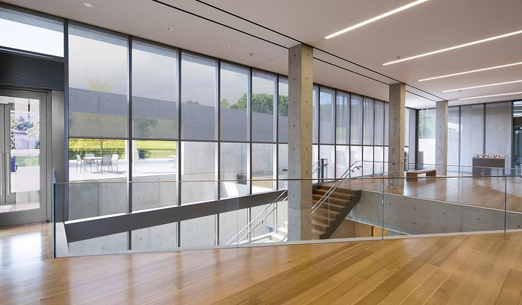 DoubleShades in an office project with high openness factor