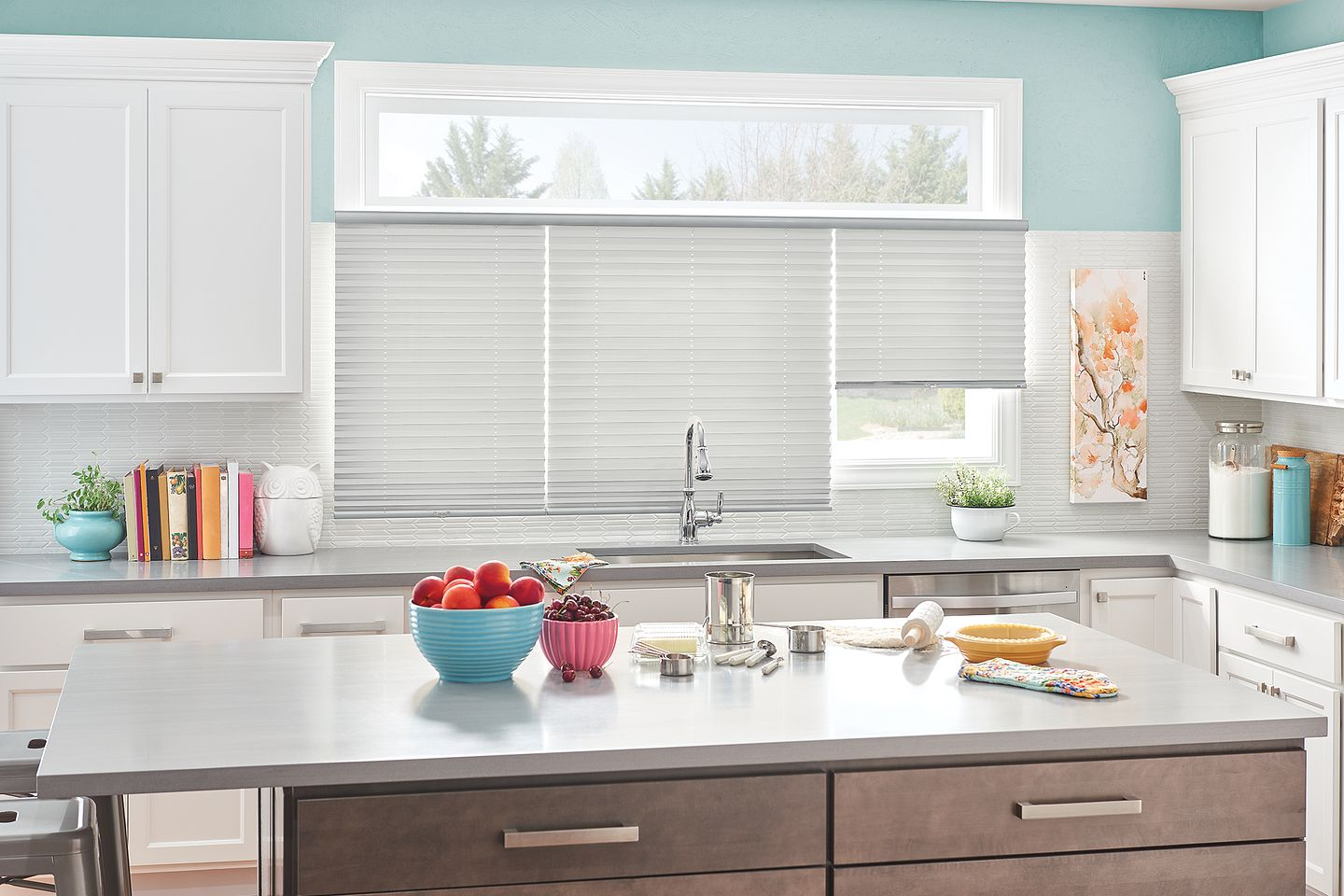 Bali Pleated Shades with Cordless Lift