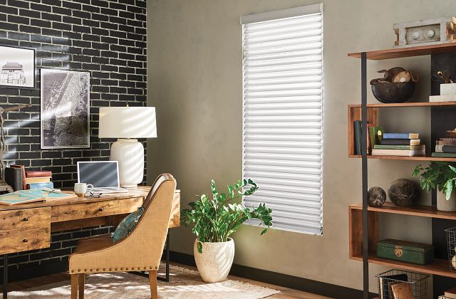 """2"""" Sheer Shades with Continuous-Loop Lift: Contemporary, Quicksilver 5296"""