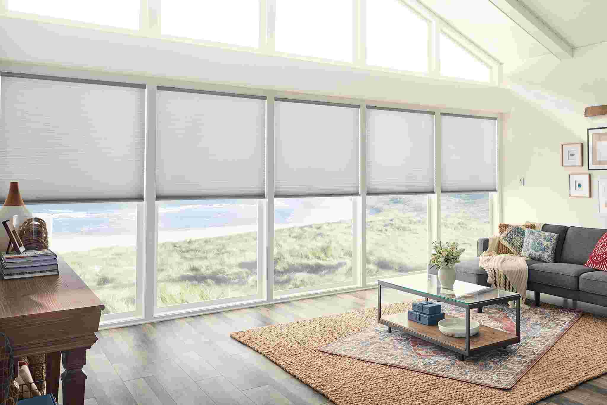 Graber Cellular Shades in Room Setting