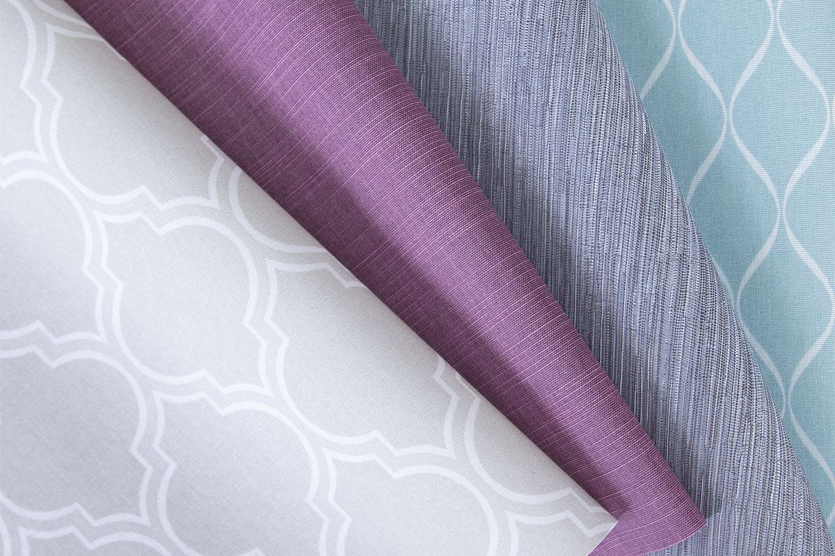 Bali Solar Fabrics fanned out