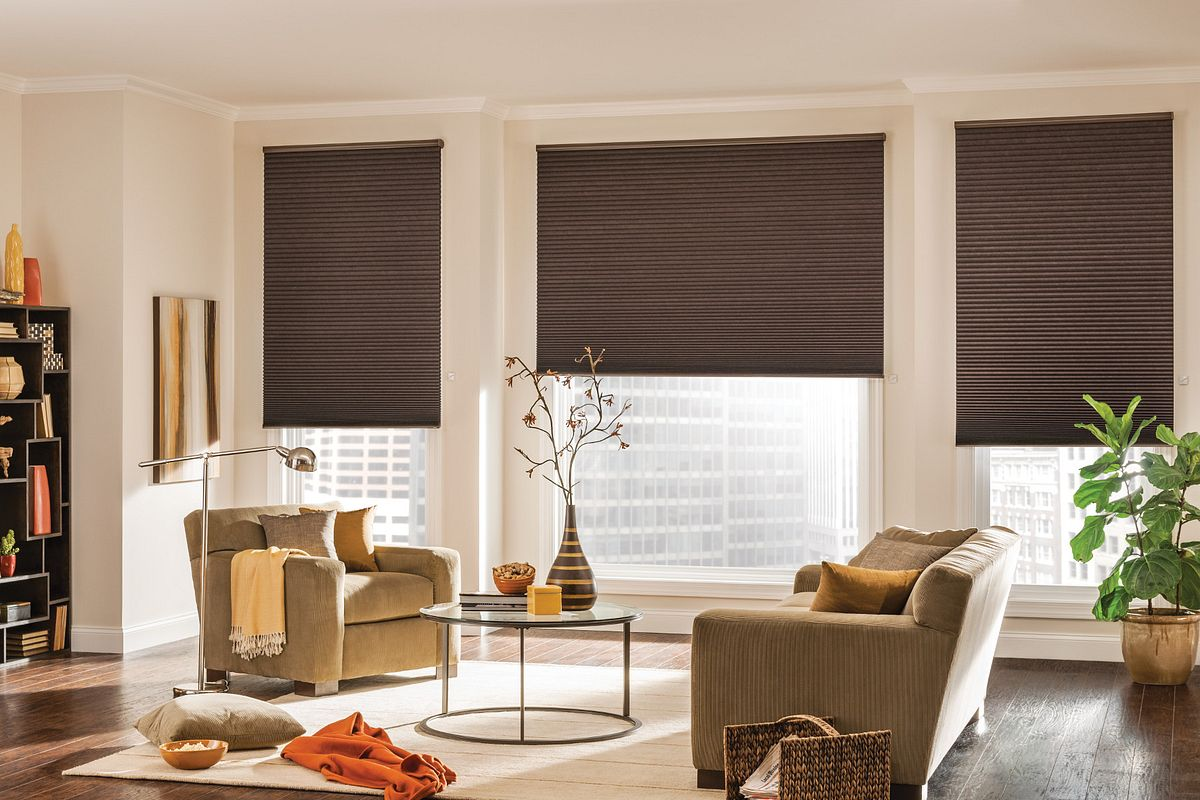Bali Cellular Shades in a stylish room
