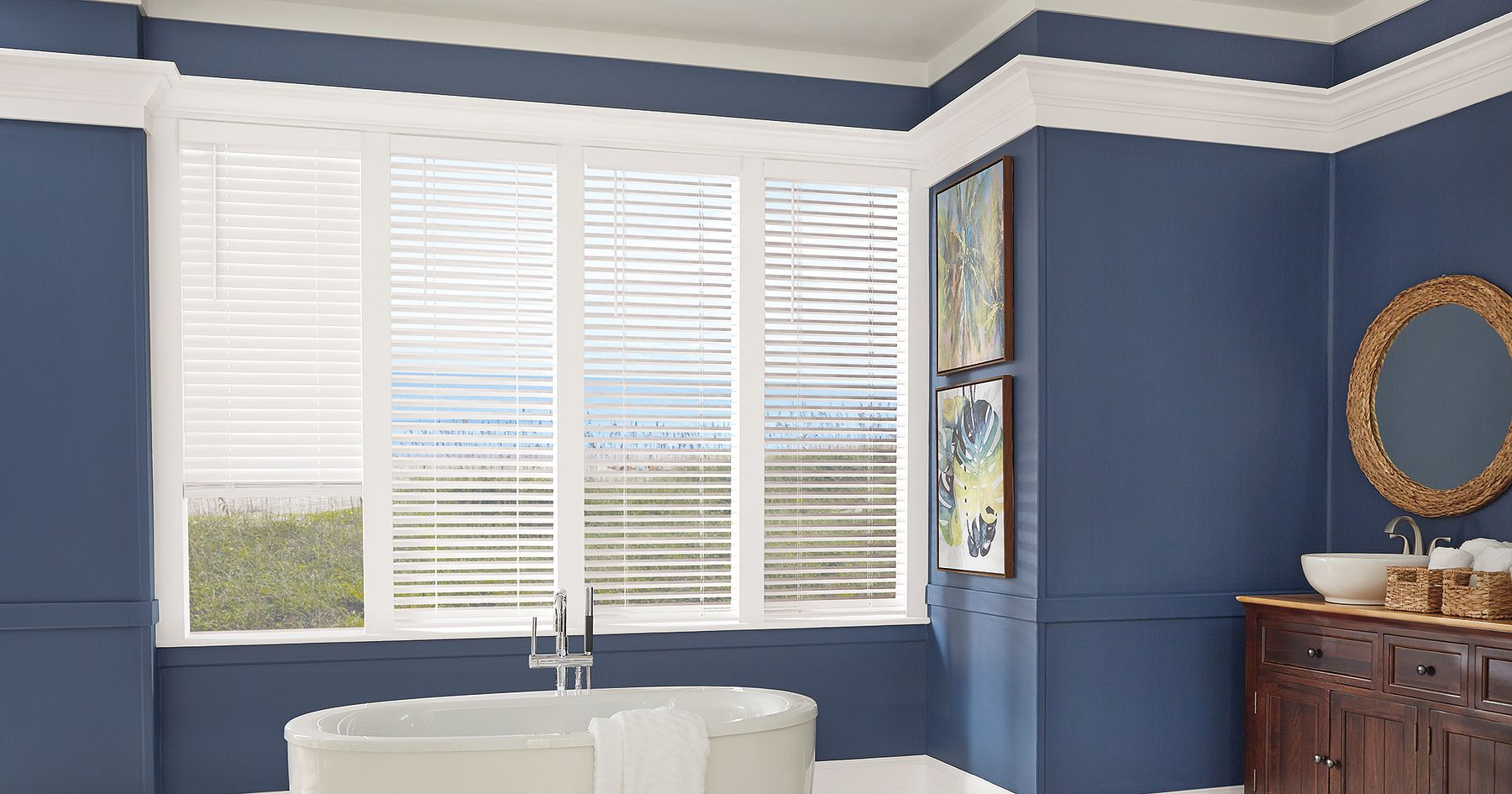 Value Faux Wood Blinds