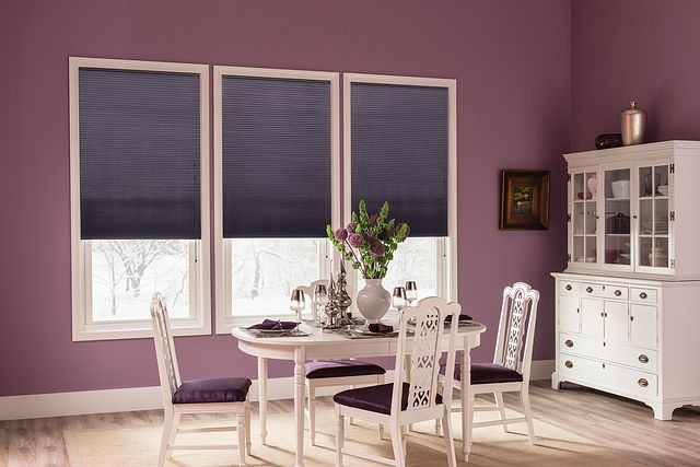 """⅜"""" Double Cell Cellular Shades with Cord Lift: Northern Lights, Ocean Liner 2459"""