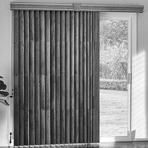 Elite Wood Vertical Blinds