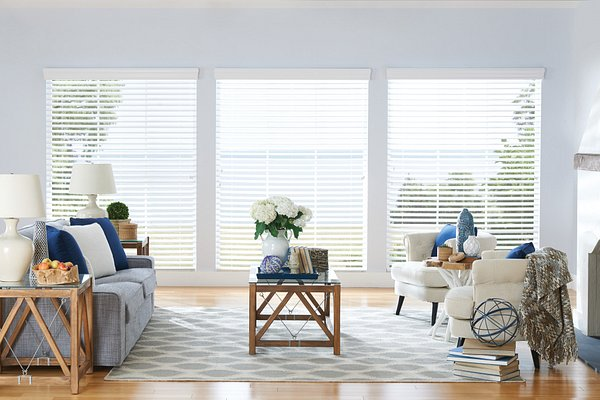 "2 ½"" Shutter Style Wood Blinds"