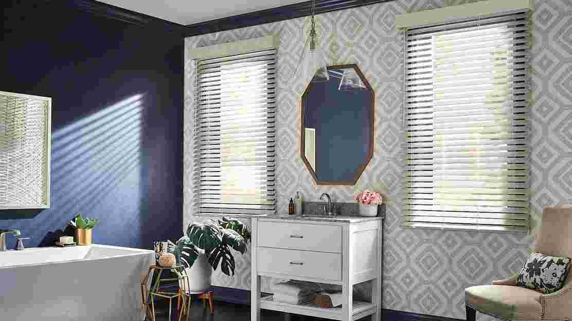 Graber Traditions Composite and Lake Forest® Faux Wood Blinds