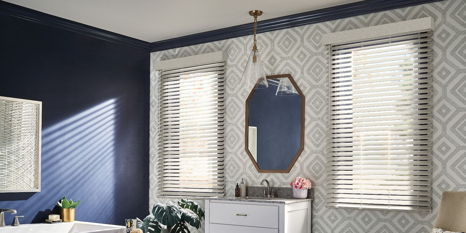 Composite and Faux Wood Blinds