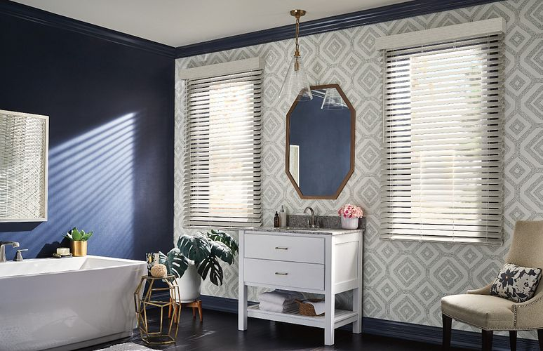 Faux Wood and Composite Blinds