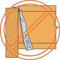 Hanger Not Plumb