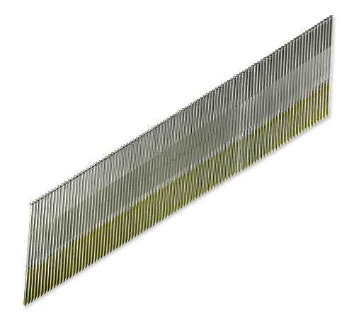 Tape Collation, DA-Style Angle, 15-Gauge Finishing Nail