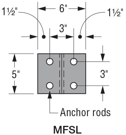 MFSL Anchor Rods