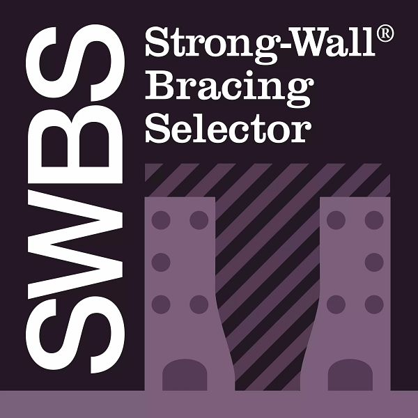 Strong-Wall Bracing Selector