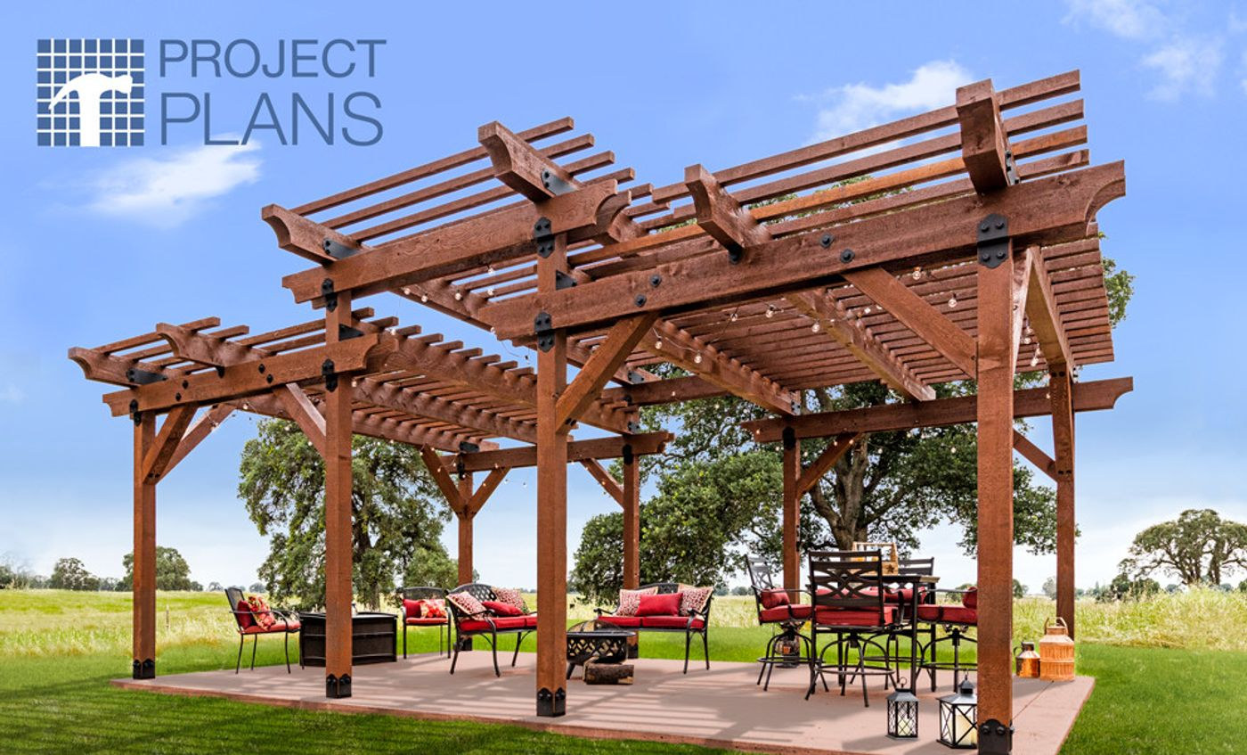 Ourdoot Accents Pergola