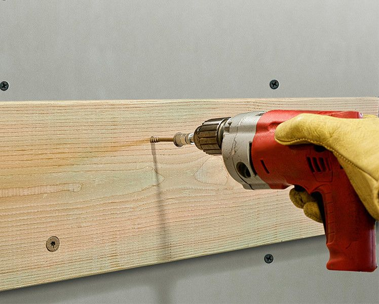 Strong-Drive SDWS TIMBER screw