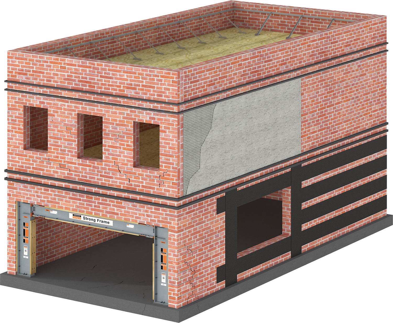 URM Building Retrofit Applications