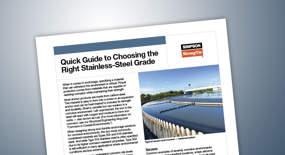 S-A-MATSELGDE18 – Quick Guide to Choosing the Right Stainless-Steel Grade
