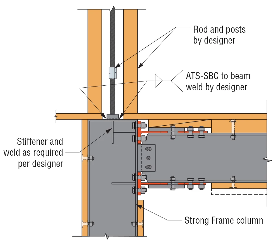 Connection to Top of Column