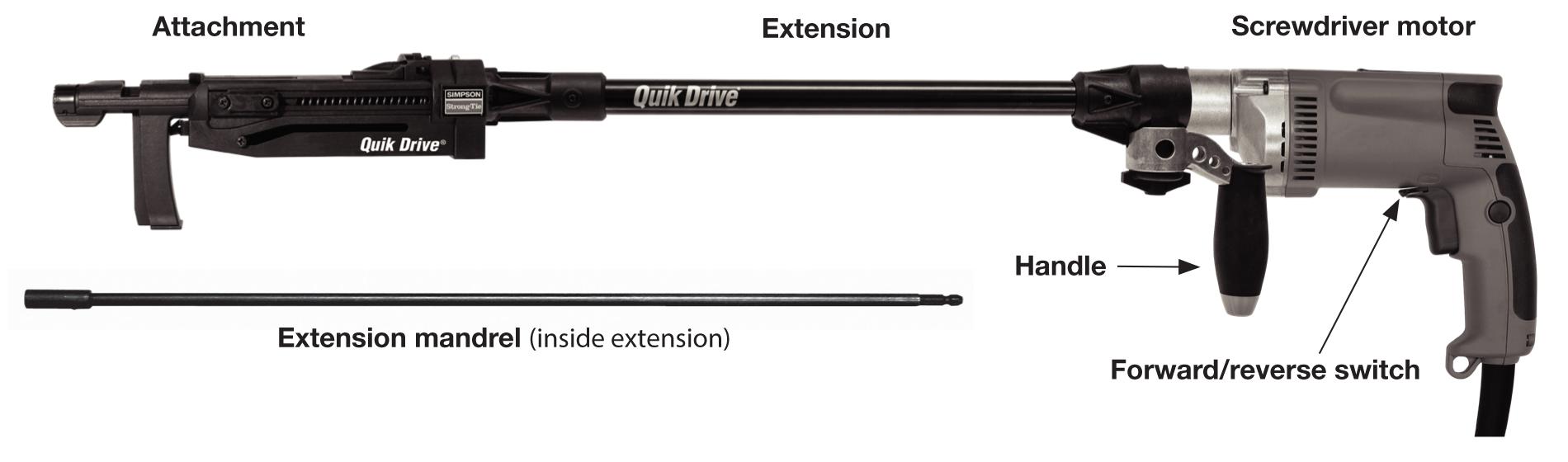 Quik Drive System Components