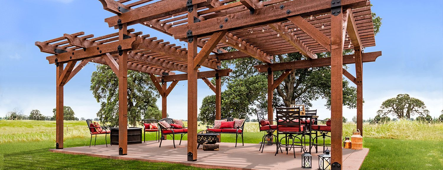 Outdoor Accents Premier Pergola Plans