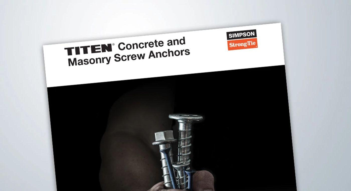 F-A-THDSS18-R – Stainless-Steel Titen HD Heavy-Duty Screw Anchor