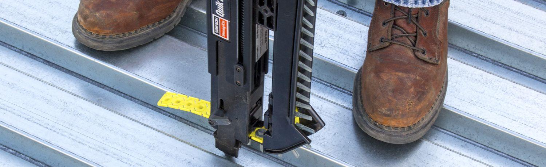 XL screw on steel deck