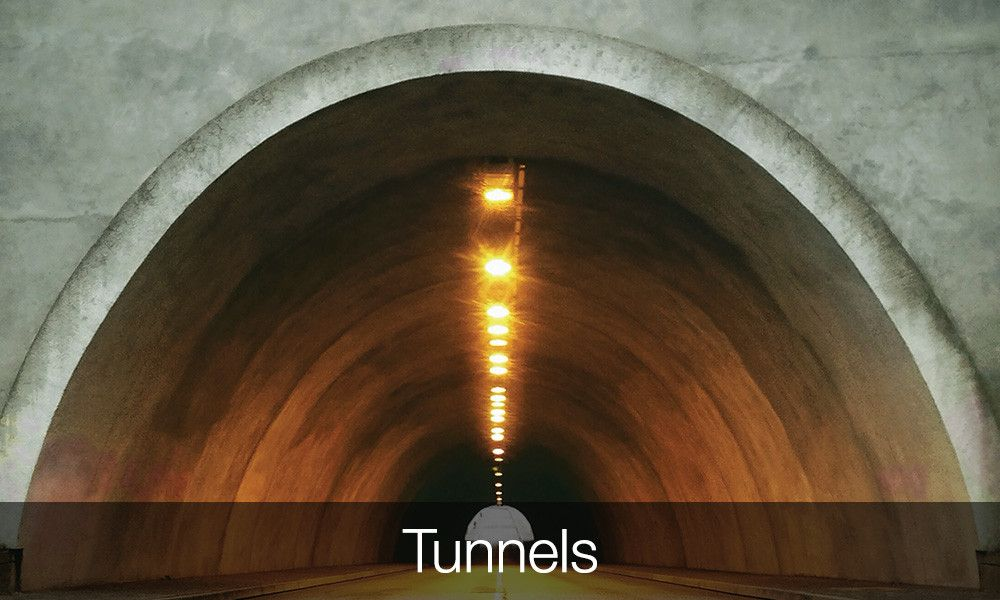 Concrete Strengthening Applications Tunnels