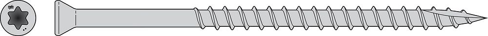 Strong-Drive Trim-Head Screw
