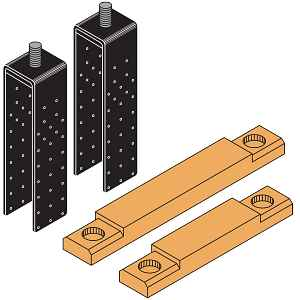 Strong-Wall® Wood Shearwall Multi-Story Kit