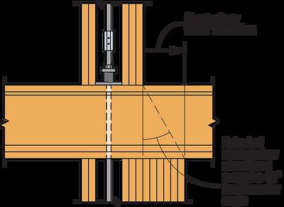 Figure 6 — Compression Post Floor-to-Floor Transition