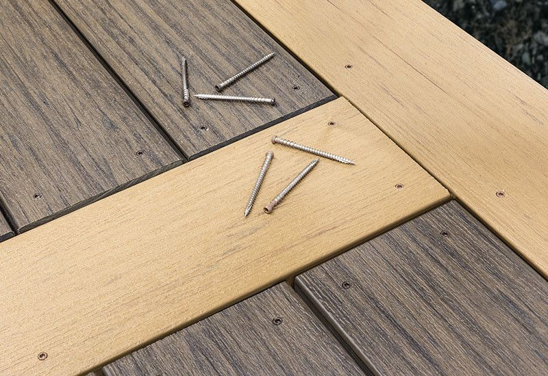 Match Composite Decking