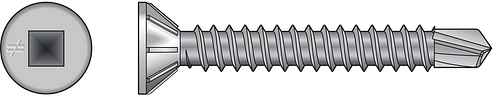 FHSD Wood-to-CFS Screw