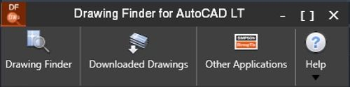 Drawing Finder for Autocad screenshot