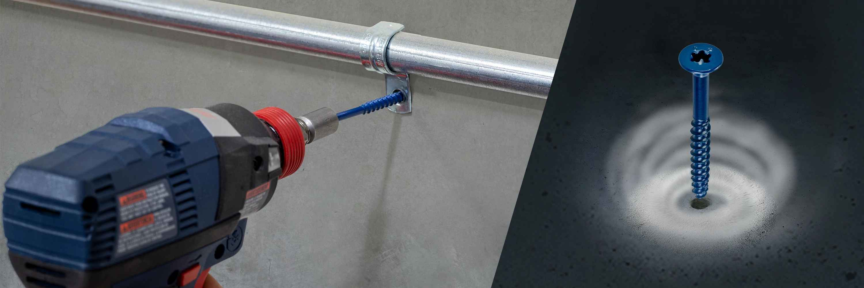 Titen Turbo concrete and masonry screw anchor