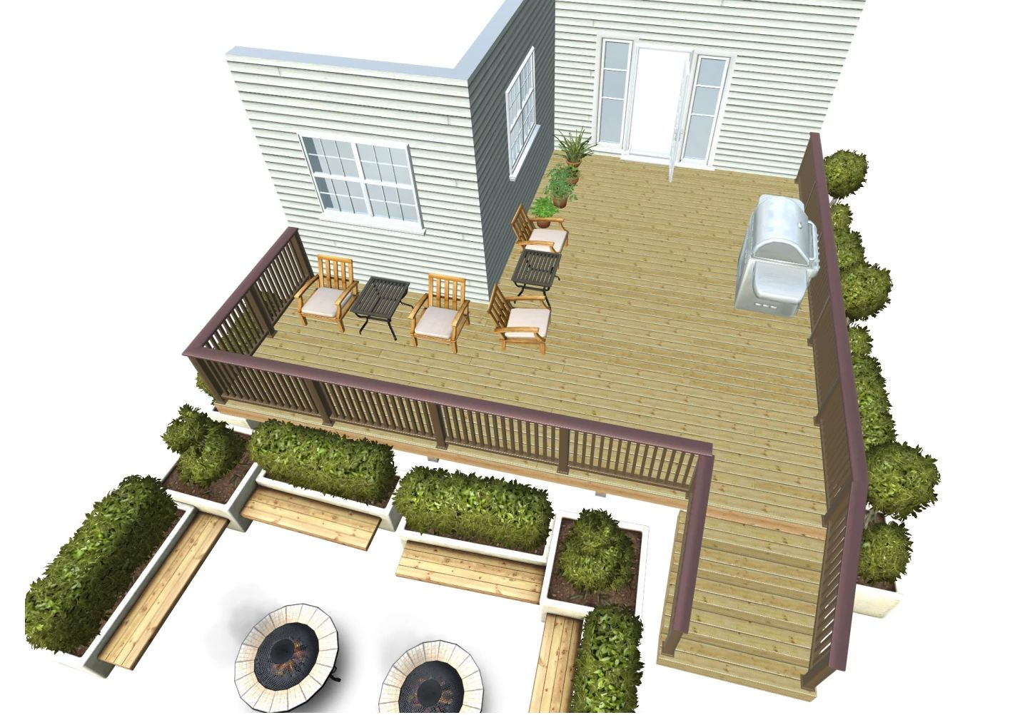 Flores deck design dream deck