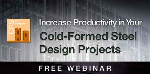 Cold Formed Steel Designer Software Webinar