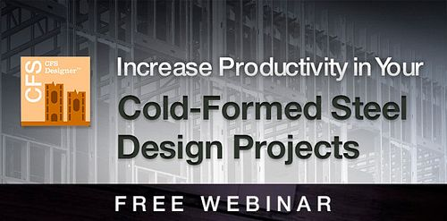 Cold Formed Steel Designer Software Webinar