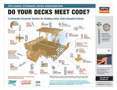 DIY-DECKPATIO18 – Deck Connector and Patio Cover Systems