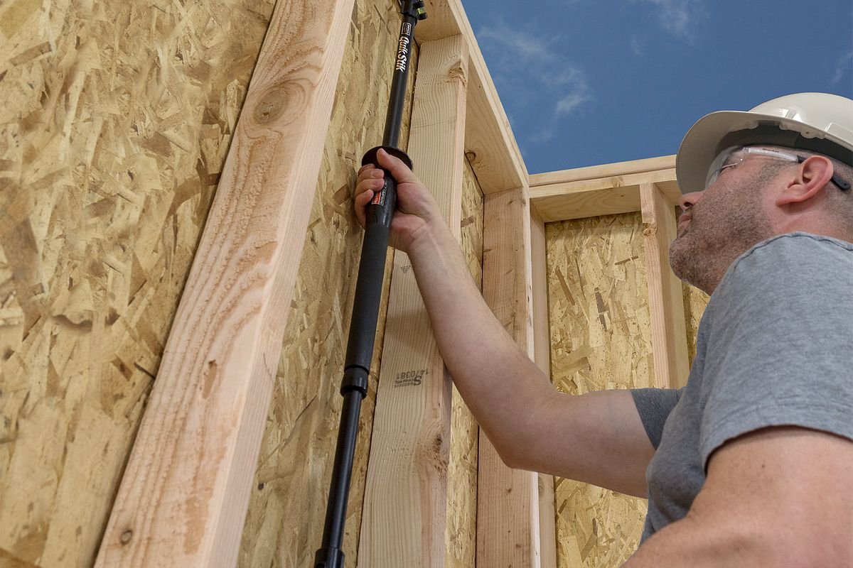 Quik Stik Truss Rafter Installation