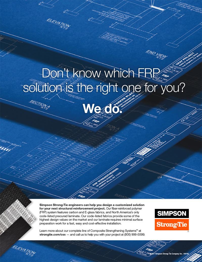 Simpson Strong-Tie FRP Design Services