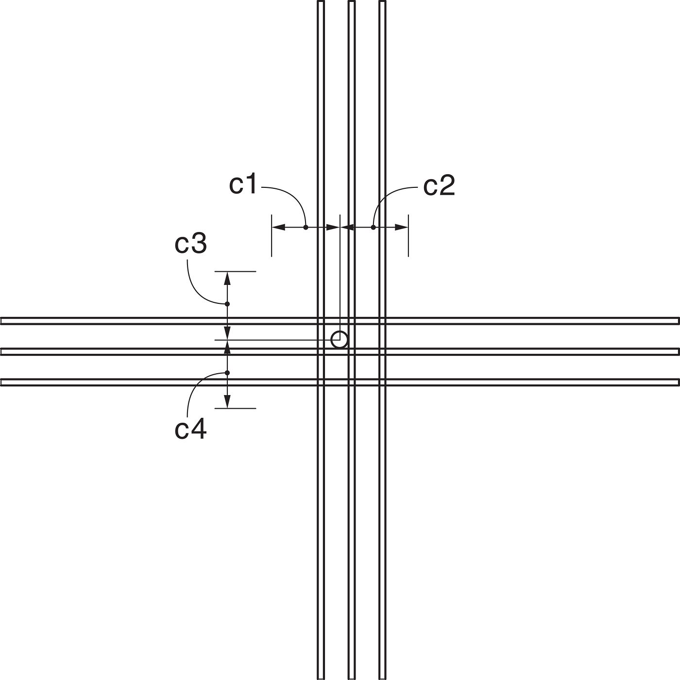 Shallow Podium Anchorage Design Example Dimensions