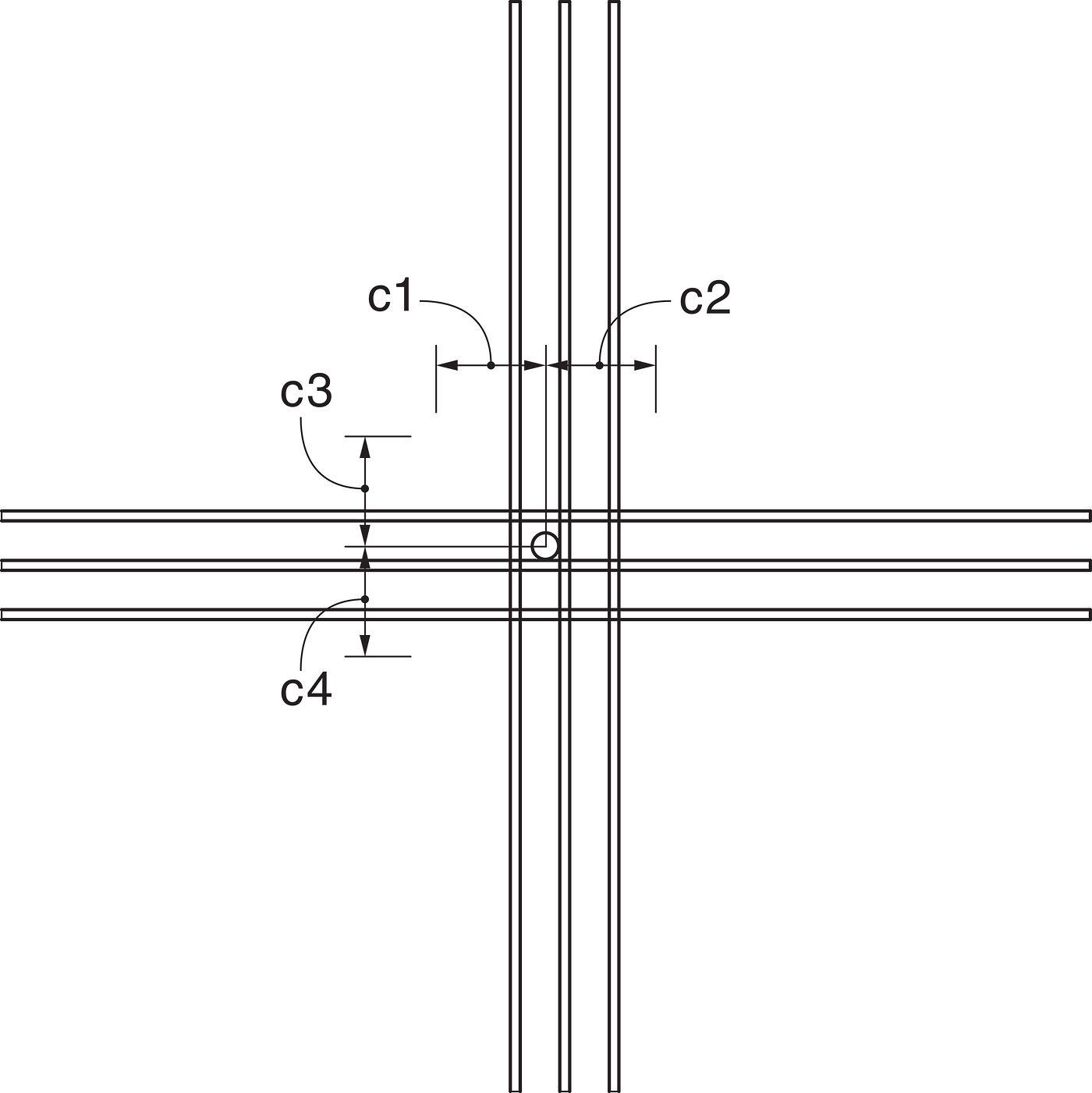 Shallow Podium Anchorage Design Example Dimensions
