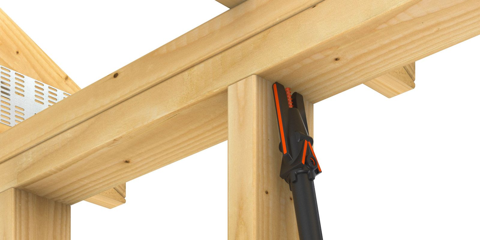 Quik Stik — Easy Overhead Installation