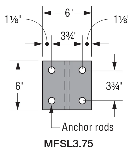 MFSL3.75 Anchorage Assembly