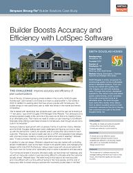 CS-BT-SMDHME20 — Builder Boosts Accuracy and Efficiency with LotSpec Software